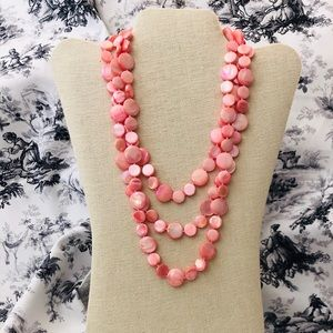 Jewelry - Coral Shell Necklace